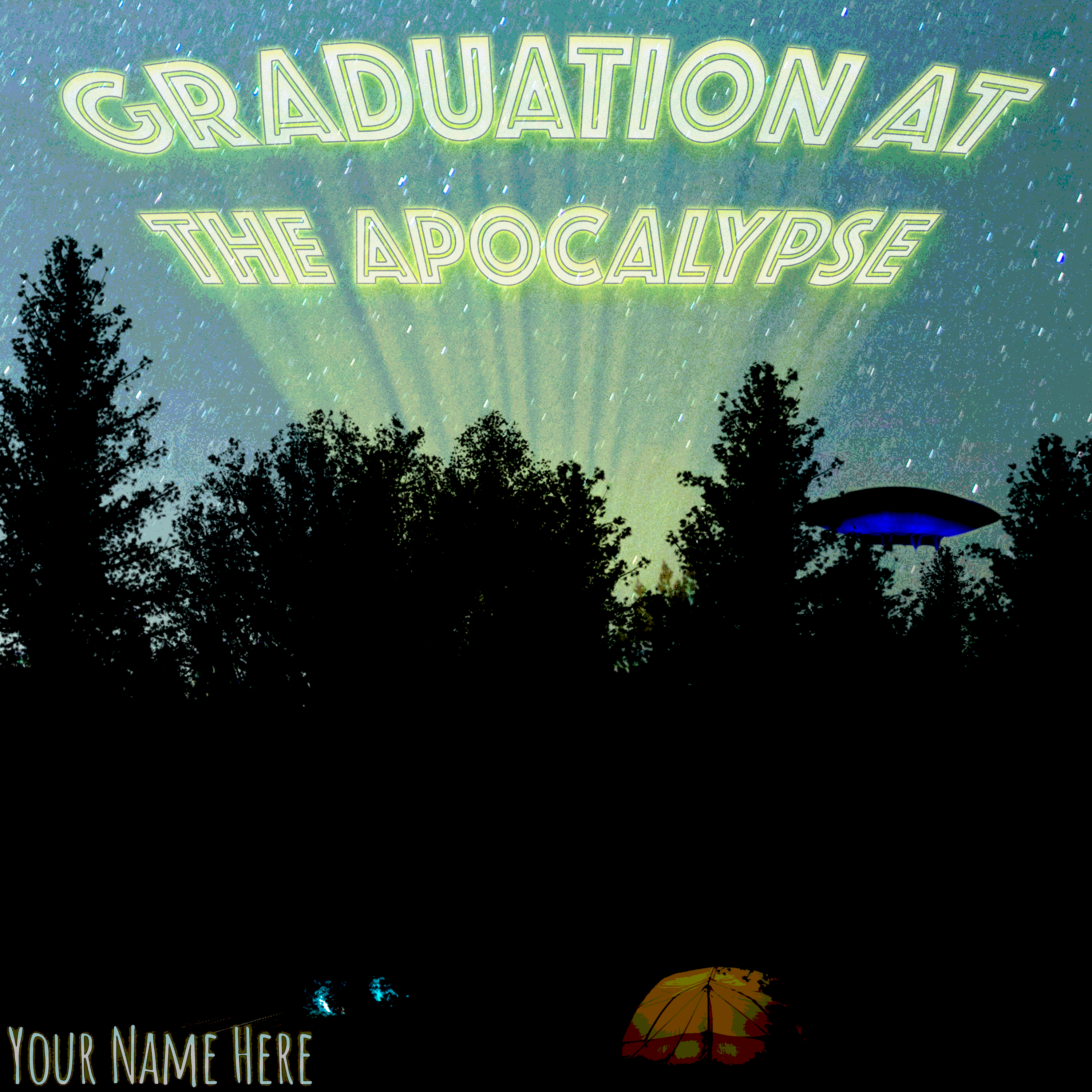Graduation At The Apocalypse Cover